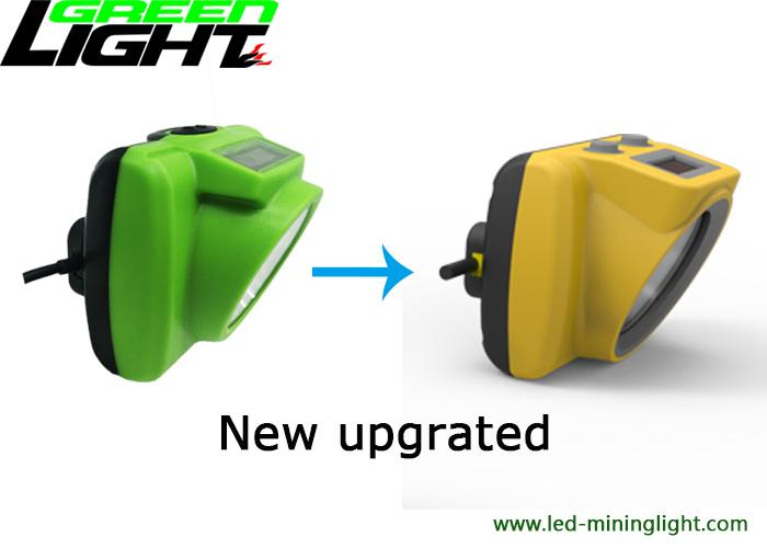 OLED Screen LED Mining Cap Lights GLC-6S ABS/PC Lamp Body For Tracking System 3