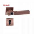 Mrlock Smart Biometric Security Key Fingerprint Home Door Lock Lever handle 2