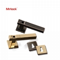 Mrlock Smart Biometric Security Key Fingerprint Home Door Lock Lever handle 5
