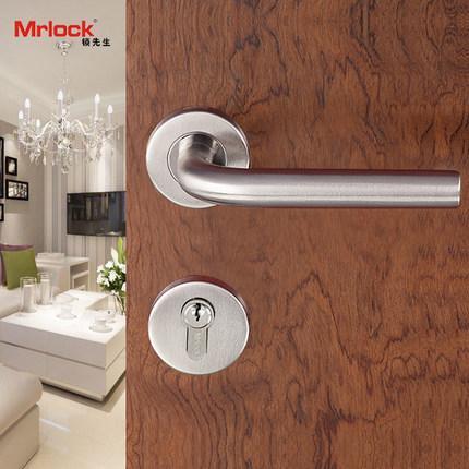 Mrlock door handle lock interior indoor tubular door lever lock 2