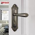 Mrlock Zink Alloy front storm door handle with lock 2