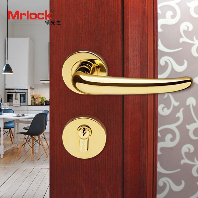 rosette door handle luxury gold door lever handle lock 1