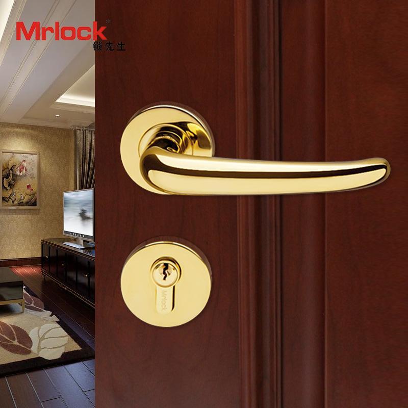rosette door handle luxury gold door lever handle lock 3