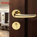 rosette door handle luxury gold door lever handle lock 4
