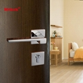 Mrlock solid casting lever type door lock handle 3
