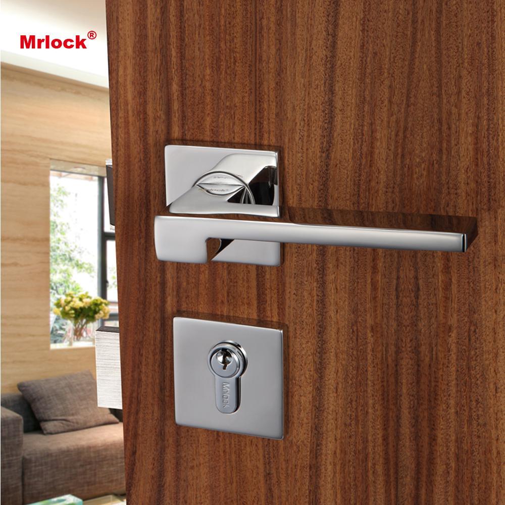 Mrlock solid casting lever type door lock handle 5
