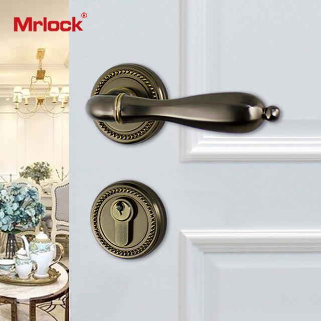 Mrlock interior indoor lock door lever handle lock 1