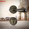 Mrlock interior indoor lock door lever handle lock 2