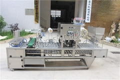 Automatic filling and sealing machine liquid packaging machine