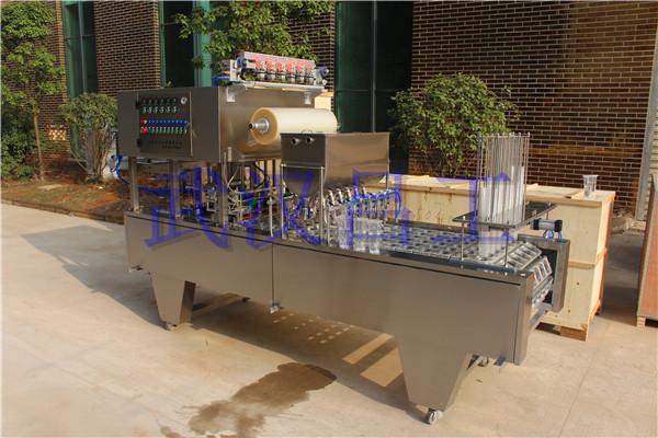 塑料杯纯净水全自动灌装封杯机 杯装水自动包装设备 2