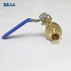 Welcome OEM ODM food grade 1 inch PEX barb ball valve
