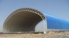 彩鋼棚鋼結構棚儲煤棚儲煤場儲煤棚鋼結構網架大棚干煤棚堆料場棚