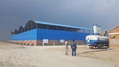 彩鋼棚鋼結構棚儲煤棚儲煤場儲煤棚鋼結構干煤棚堆料場棚