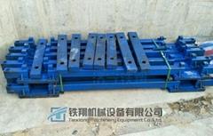 供应钢轨支撑架单渡线铺轨工装