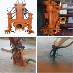 挖機液壓泥砂泵-挖機抽沙泵
