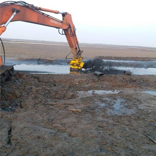 YSQ液压式潜水泥浆泵—20吨挖机专用设备 1