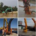 YSQ液压式潜水泥浆泵—20吨挖机专用设备 3