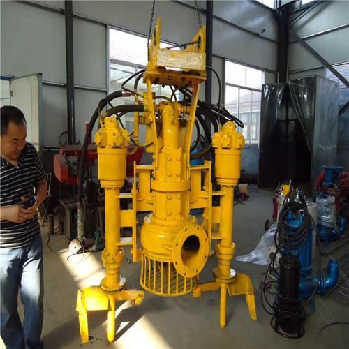 Ysq hydraulic submersible slurry pump-special equipment for 20 ton dredge 4