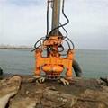 30-ton excavator with agitator hydraulic silt removal pump 2