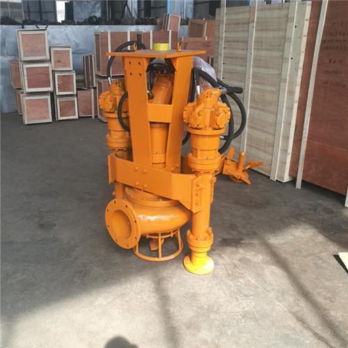30-ton excavator with agitator hydraulic silt removal pump 3