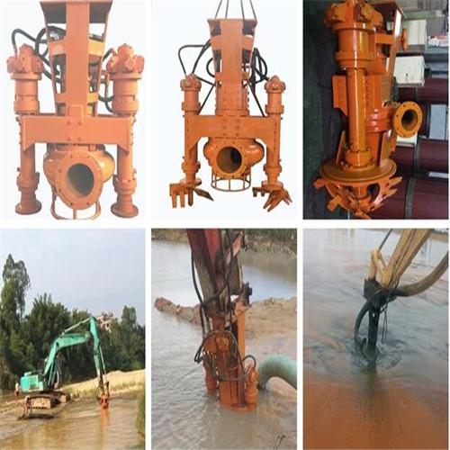 30-ton excavator with agitator hydraulic silt removal pump 4