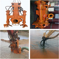 Hydraulic slurry pump of ysq dredger for sand lifting in port reclamation 2