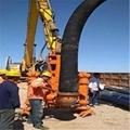 Hydraulic slurry pump of ysq dredger for