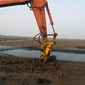 Hydraulic slurry pump of ysq dredger for sand lifting in port reclamation 3