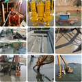 High temperature and abrasion resistant submersible slurry pump 2
