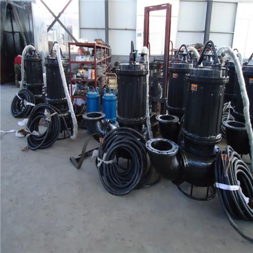 High temperature and abrasion resistant submersible slurry pump 4