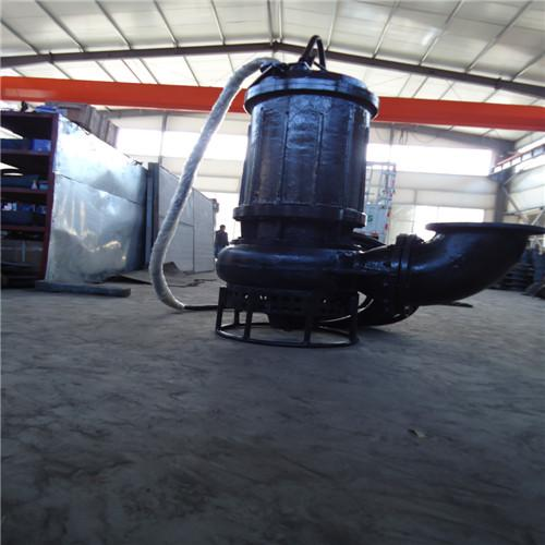 High-lift and large-flow wear-resistant submersible slurry pump 1