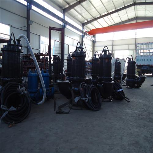High-lift and large-flow wear-resistant submersible slurry pump 3