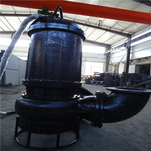 High-lift and large-flow wear-resistant submersible slurry pump 4