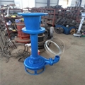 Abrasion-resistant and agitating type slurry pump 3