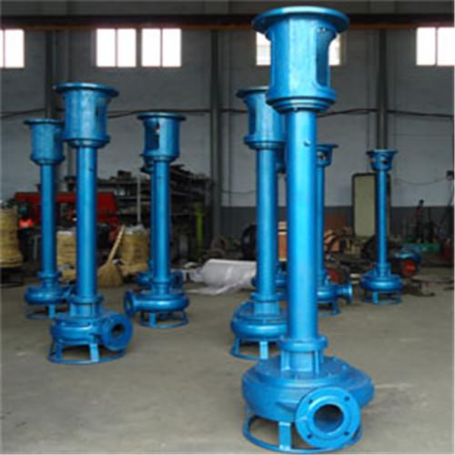 Special wear-resisting vertical mud pump for silt removal in sedimentation tank 1