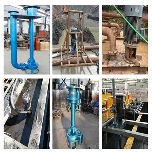 沉淀池清淤专用耐磨立式泥浆泵 2