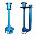 沉淀池清淤专用耐磨立式泥浆泵 3