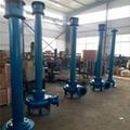 沉淀池清淤专用耐磨立式泥浆泵 4