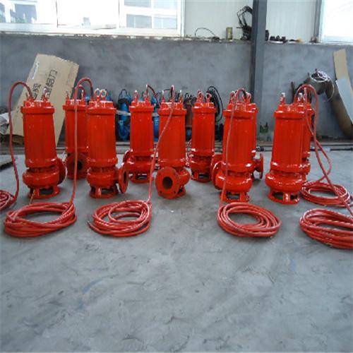 Heat resistant submersible sewage pump 2