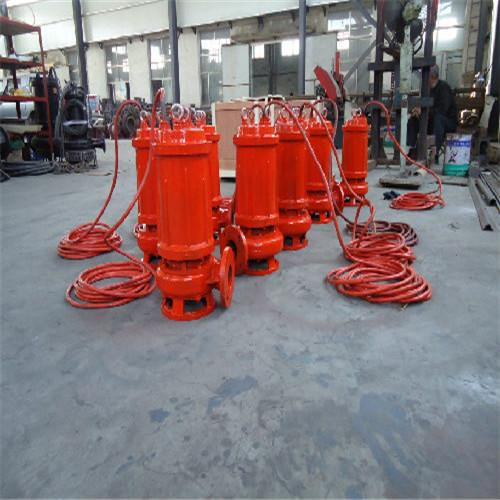 Heat resistant submersible sewage pump 3