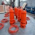 Heat resistant submersible sewage pump 5