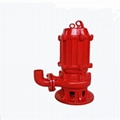 High temperature resistant submersible sewage pump with automatic stirring 2
