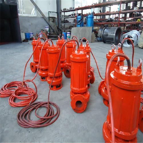 耐高温自动搅拌潜水排污泵 3