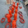 All CAST (high temperature resistant) stainless steel submersible sewage pump 3
