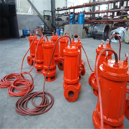 All CAST (high temperature resistant) stainless steel submersible sewage pump 4