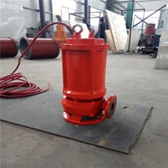 All CAST (high temperature resistant) stainless steel submersible sewage pump