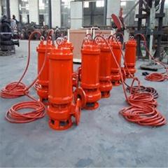 螺旋铰刀切割潜水污水泵