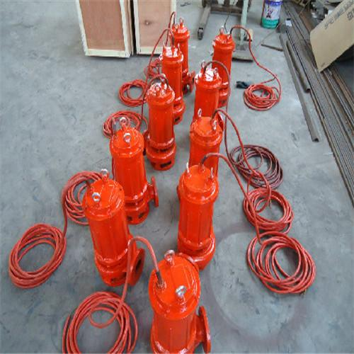 Cutting submersible sewage pump with spiral reamer 4