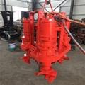 Heavy duty submersible agitator sand pump 3