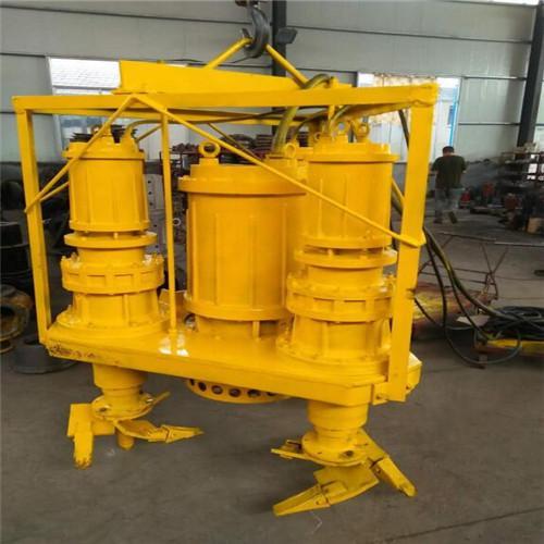 Heavy duty submersible agitator sand pump 4